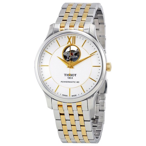 TISSOT TRADITION POWERMATIC 80 OPEN HEART - T063.907.22.038.00
