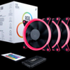 FAN CASE FIRE MOON RGB FAN KIT 3PCS