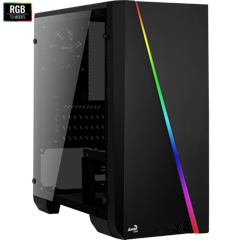 CASE AEROCOOL CYLON MINI (ACRYLIC WINDOW) LED RGB