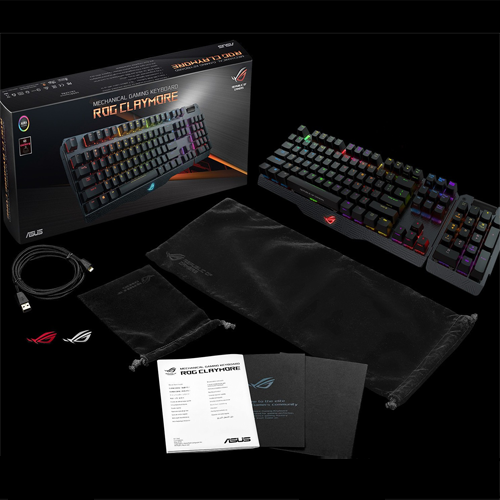 BÀN PHÍM CƠ ASUS ROG CLAYMORE CORE MX  RED CHERRY SWITCH