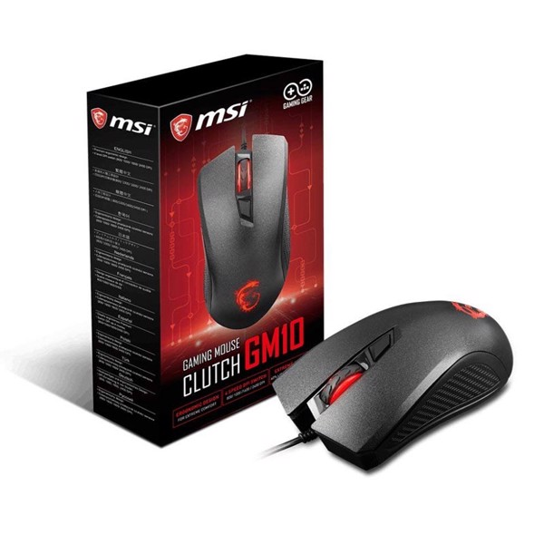 CHUỘT MSI CLUTCH GM10 GAMING BLACK
