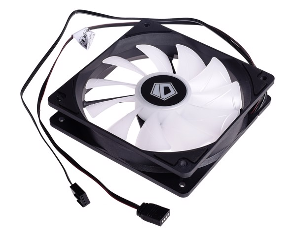 FAN CASE ID-COOLING XF-12025-ARGB-TRIO 3pcs Pack ( Addressable RGB, RGB SYNC With motherboard, internal cable controller included )