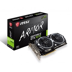 VGA MSI GTX 1070 ARMOR 8GB OC NEW