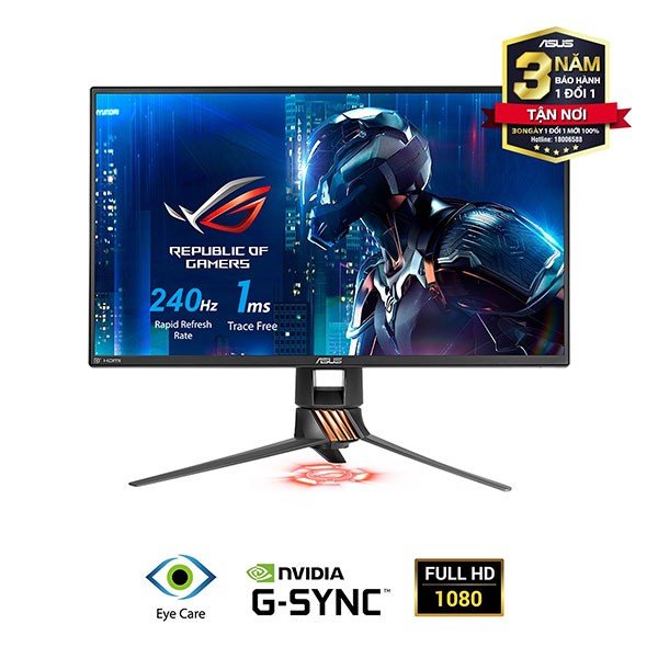 LCD ASUS 25 INCH PG258Q 240Hz 1ms GAMING MONITOR
