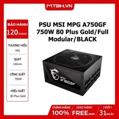 PSU MSI MPG A750GF 750W 80 Plus Gold/Full Modular/BLACK