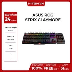 BÀN PHÍM CƠ ASUS ROG CLAYMORE CORE MX CHERRY SWITCH