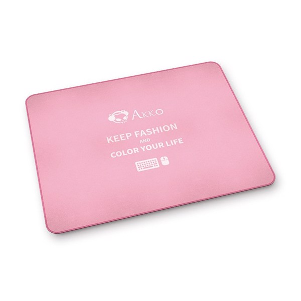 MOUSE PAD AKKO PINK COLOR 450x350x3