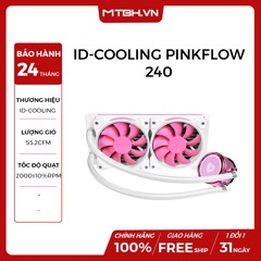 TẢN NHIỆT NƯỚC ID-COOLING PINKFLOW 240 AIO ( Addressable RGB, RF Remote Control RGB SYNC With motherboard/ RGB Water Cooler 240mm PWM )