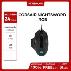 MOUSE CORSAIR NIGHTSWORD RGB