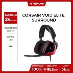 TAI NGHE CORSAIR VOID ELITE SURROUND CHERRY