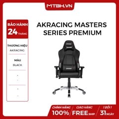 GHẾ AKRACING MASTERS SERIES PREMIUM GAMING BLACK