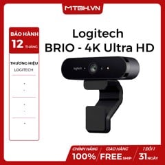 Webcam Logitech BRIO - 4K Ultra HD