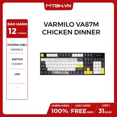 BÀN PHÍM VARMILO VA87M CHICKEN DINNER RED