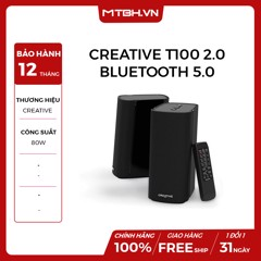 LOA CREATIVE T100 2.0 BLUETOOTH 5.0