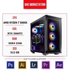PC WORKSTATION BHC STUDIO 07 (AMD RYZEN 7 5800X/32GB/512GB/RTX 3060TI)