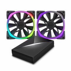 FAN CASE NZXT AER RGB 120MM STARTER PACK (2FAN + HUE)