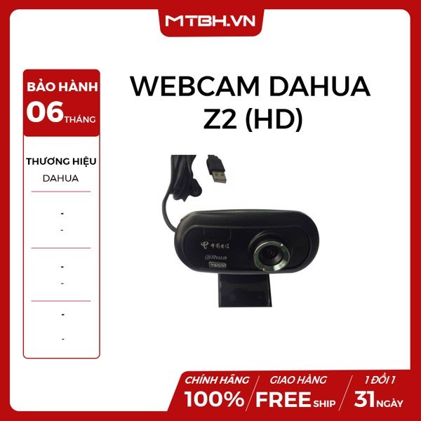 WEBCAM DAHUA Z2 (HD) NEW