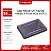 SSD KINGSTON 480GB HYPERX FURY RGB 2.5 SATA 3