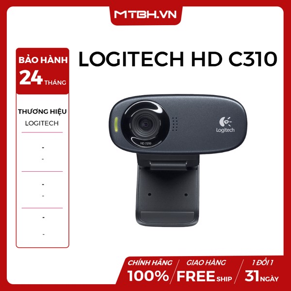 WEBCAM LOGITECH HD C310