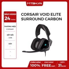TAI NGHE CORSAIR VOID ELITE SURROUND CARBON