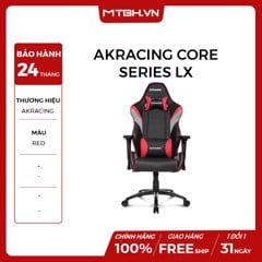 GHẾ AKRACING CORE SERIES LX GAMING RED