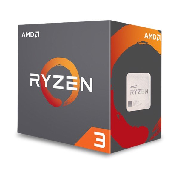 CPU AMD RYZEN 3 1200 4C/4T 3.1Ghz (TURBO 3.4Ghz)