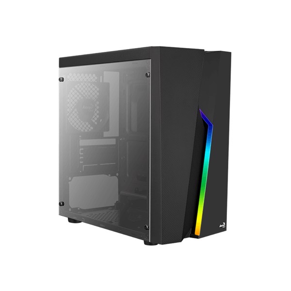 CASE AEROCOOL BOLT MINI ACRYLIC - LED RGB