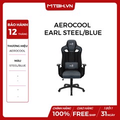 GHẾ AEROCOOL GAMING CHAIR EARL STEEL/BLUE-Cushion-V1