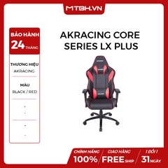 GHẾ AKRACING CORE SERIES LX PLUS GAMING RED