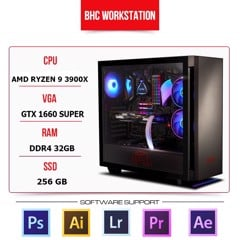 PC WORKSTATION BHC STUDIO 06 (AMD RYZEN 9 3900X/32GB/240/1660 SUPER)