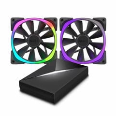 FAN CASE NZXT AER RGB 140MM STARTER PACK (2FAN + HUE)