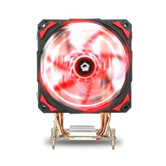 TẢN NHIỆT CPU ID-COOLING SE-214-LGA115X ( 4 Heatpipe Direct Touch Intel 115x 120mm PWM Red LED Fan )