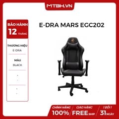 GHẾ E-DRA MARS EGC202 GAMING BLACK