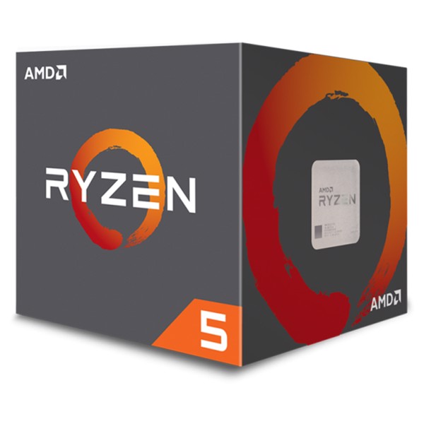CPU AMD RYZEN 5 1600 6C/12T 3.2Ghz (TURBO 3.6Ghz)