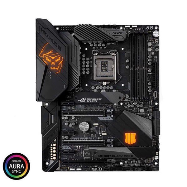 MAIN ASUS Z390 MAXIMUS XI ROG HERO (CALL OF DUTY EDITION)