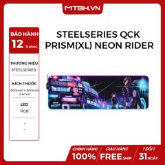 MOUSE PAD STEELSERIES QCK PRISM(XL) NEON RIDER EDITION LIMITED