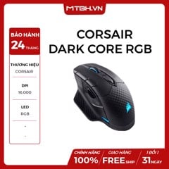 CHUỘT CORSAIR DARK CORE RGB (WIRELESS)