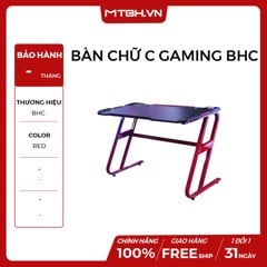 BÀN CHỮ C GAMING BHC RED NEW