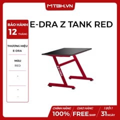 BÀN GAMING Z tank E-dra RED