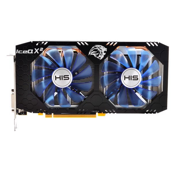 VGA HIS RX580 ICEQ X2 8GB OC