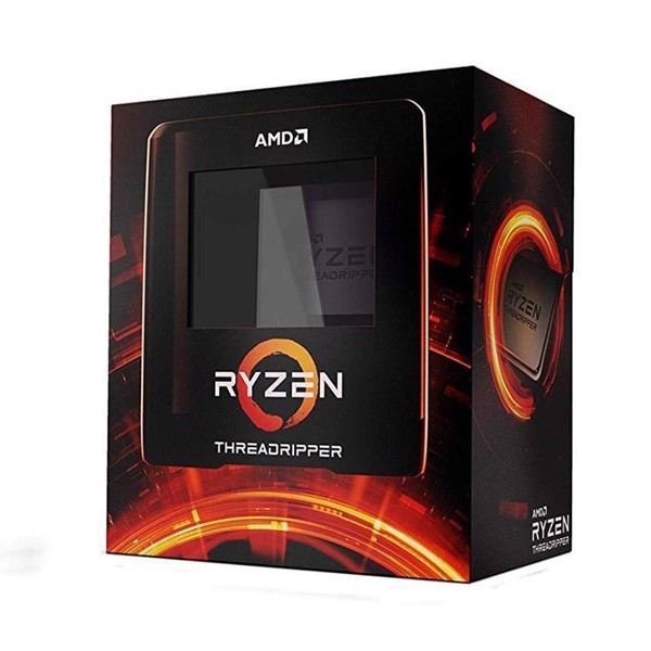 CPU AMD RYZEN THREADRIPPER 3990X (2.9GHz turbo up to 4.3GHz, 64 nhân 128 luồng, 292MB Cache, 280W) - Socket sTRX4