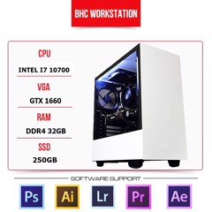 PC WORKSTATION BHC STUDIO 03 (INTEL CORE I7 10700/32GB/250GB/GTX 1660)