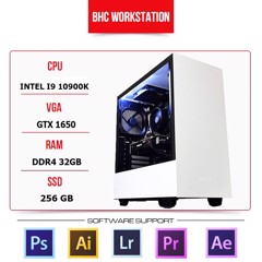 PC WORKSTATION BHC STUDIO 04 (INTEL CORE I9 10900K/32GB/240GB/GTX 1650)