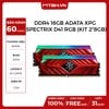 RAM DDR4 16GB ADATA XPG SPECTRIX D41 BUSS 3000 TẢN NHIỆT RED RGB (KIT 2*8GB)