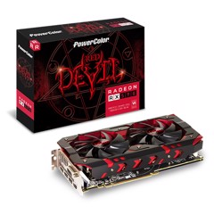 VGA POWER COLOR RX 590 8GB GDDR5 3DH/OC RED DEVLL