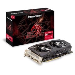 VGA POWER COLOR RX 590 8GB GDDR5 RED DRAGON RADEON