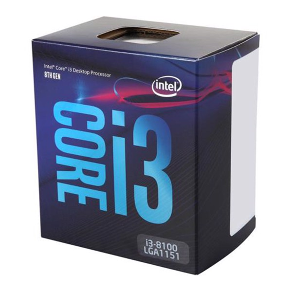 CPU INTEL CORE I3 8100 COFFEE LAKE NEW BOX