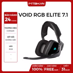 TAI NGHE CORSAIR VOID RGB ELITE 7.1 WIRELESS CARBON