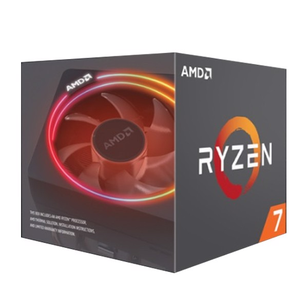 CPU AMD RYZEN 7 2700X 8C/16T 3.7 GHZ (TURBO 4.3 GHZ )