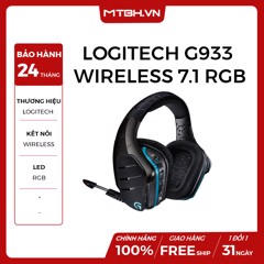 TAI NGHE LOGITECH G933 WIRELESS 7.1 RGB GAMING